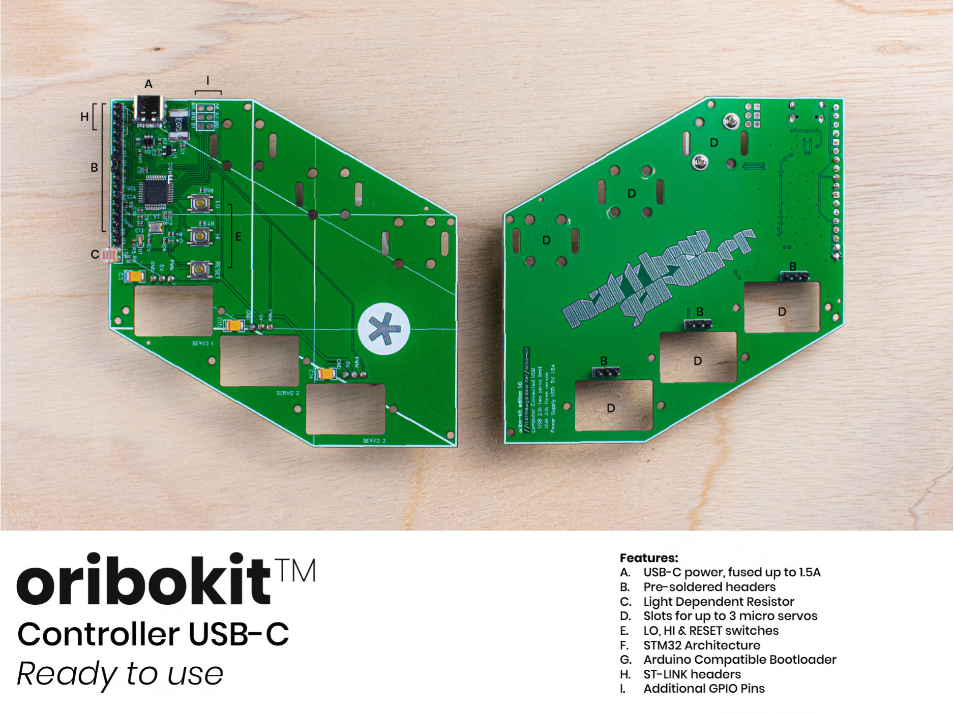 Oribokit Controller